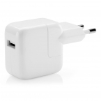Apple original iPad/iPhone laddare, 2.1A, 12W, vit