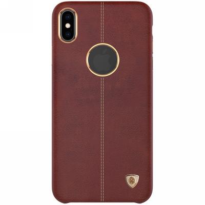 Nillkin PU skal för iPhone X/XS, brun