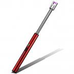 ArcLighter böjbar uppladdningsbar USB-tändare, röd