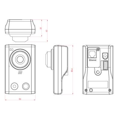 Avtech AVN80X IP‑kamera ‑ PUSH‑larmkamera
