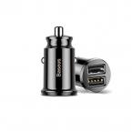 BASEUS 2xUSB 3.1A, smart mini snabbladdare till bilen