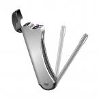 Arclighter BBQ, böjbar uppladdningsbar USB-tändare, silver