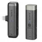 BOYA BY-WM3D trådlös mikrofon, Lightning, 2.4GHz