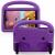 Barnvänligt silikonfodral Galaxy Tab A 8.0 (2019), lila