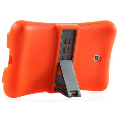 Barnfodral i silikon för Samsung Tab 3 7.0, orange