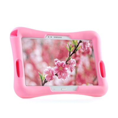 Barnfodral i silikon för Samsung Tab 3 7.0, rosa