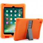 Barnfodral i silikon för iPad 2/3/4, orange