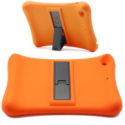 Barnfodral i silikon för iPad mini 1/2/3, orange