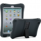 Barnfodral i silikon för iPad mini 1/2/3, svart