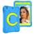 Barnfodral roterbart ställ, 10.2/10.5 iPad Air 3, blå/grön