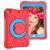 Barnfodral roterbart ställ, 10.2/10.5 iPad Air 3, röd/blå