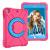 Barnfodral roterbart ställ, 10.2/10.5 iPad Air 3, rosa/blå
