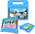 Barnfodral med ställ, Samsung Tab A 8.4 (2020), blå