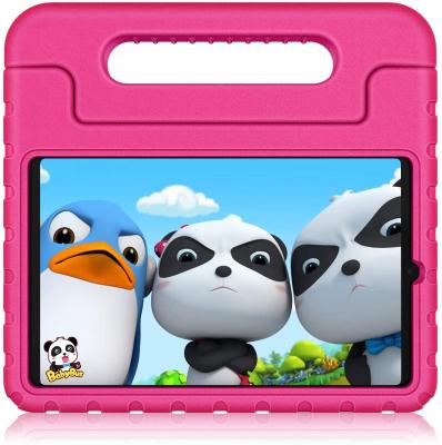 Barnfodral med ställ, Samsung Tab A 8.4 (2020), rosa