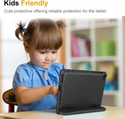 Barnfodral med ställ, Samsung Tab A 8.4 (2020), svart