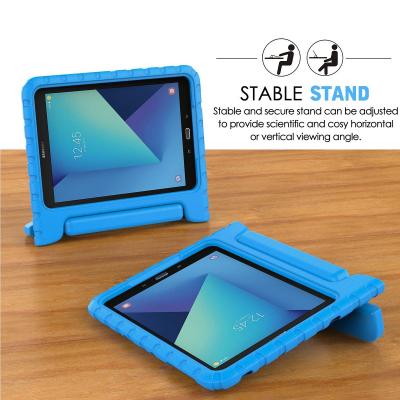 Barnfodral med ställ till Samsung Galaxy Tab S3 9.7, blå