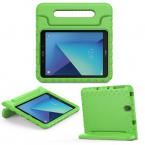 Barnfodral med ställ till Samsung Galaxy Tab S3 9.7, grön