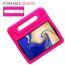 Barnfodral med ställ till Samsung Galaxy Tab S4, rosa
