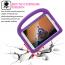 Barnfodral med ställ till iPad 9.7, Air/Air2, Pro 9.7, lila