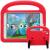 Barnfodral med ställ till iPad 9.7, Air/Air2, Pro 9.7, röd