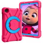Barnfodral med roterbart ställ, Samsung Tab A 8.4 (2020), rosa