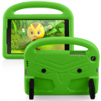 Barnvänligt silikonfodral Galaxy Tab A 8.0 (2019), grön