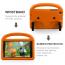 Barnvänligt silikonfodral Galaxy Tab A 8.0 (2019), orange
