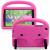 Barnvänligt silikonfodral Galaxy Tab A 8.0 (2019), rosa