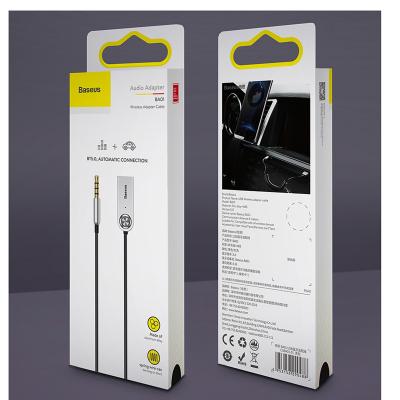 Baseus 3.5mm till bluetooth, svart