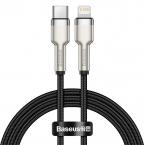 Baseus Cafule USB-C till Lightning datakabel, PD, 20W, 1m, svart