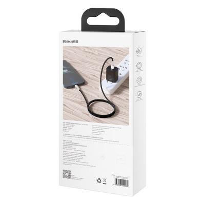 Baseus Cafule USB‑C till Lightning datakabel, PD, 20W, 1m, svart