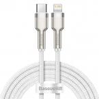 Baseus Cafule USB-C till Lightning datakabel, PD, 20W, 2m, vit