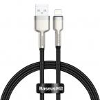 Baseus Cafule USB till Lightning datakabel, 2.4A, 0.25m, svart
