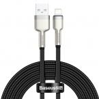 Baseus Cafule USB till Lightning datakabel, 2.4A, 2m, svart