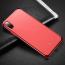 Transparent TPU skal till iPhone X/XS, röd