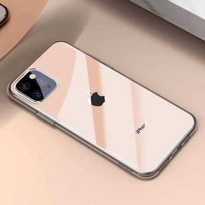 Baseus TPU‑skal, iPhone 11 Pro, guld/transparent