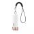 Baseus ZLFDQT3-01 Smart laddningsbar GPS-spårare, 80mAh, vit