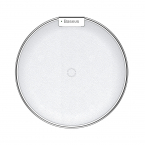 Baseus iX Desktop Wireless Charger Silver