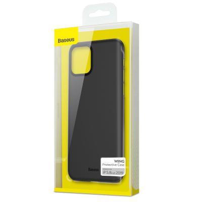 Baseus Wing ultratunt skal, iPhone 11 Pro, svart