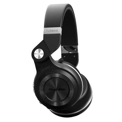 Bluedio T2+ bluetooth v4.1 headset, svart