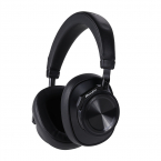 Bluedio T6, Bluetooth, On-Ear trådlösa hörlurar, svart