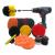 Borstset till skruvdragare för all rengöring, 22 delar