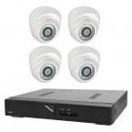 Budget övervakningspaket dome inomhus, 4 kameror