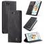 CaseMe plånboksfodral, iPhone 6/6S, svart