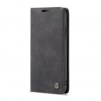 CaseMe plånboksfodral, iPhone X/XS, svart