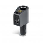 Forever CSS-04 Biladapter med 3 USB-uttag