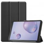 Läderfodral, Samsung Galaxy Tab A 8.4 (2020), svart