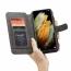 CaseMe 007 plånboksfodral + magnetskal, Samsung S21 Ultra, svart