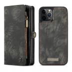 CaseMe 008 Series läderfodral, iPhone 12/12 Pro, grå