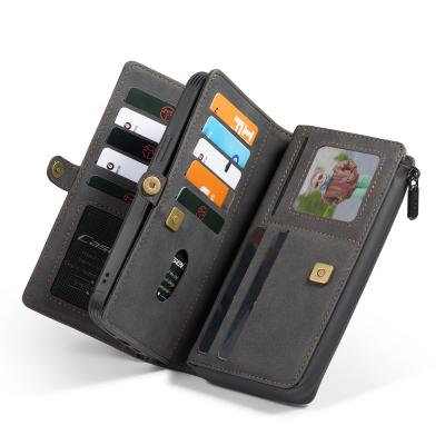 CaseMe 018 Series läderfodral till iPhone 12 Mini, svart